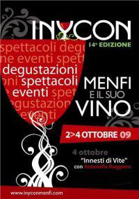 inycon, Menfi e il suo vino - dal 2 al 4 ottobre 2009