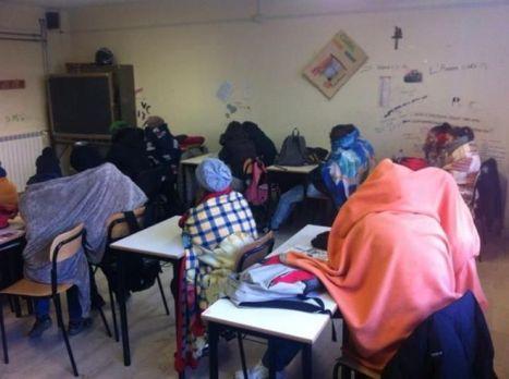 freddo in classe coperte